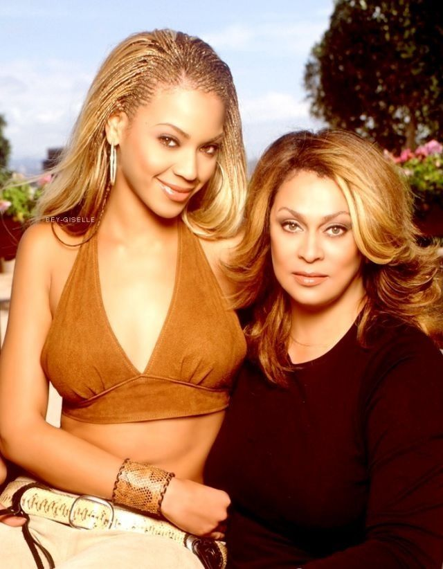 Beyonce and mama Tina Knowles