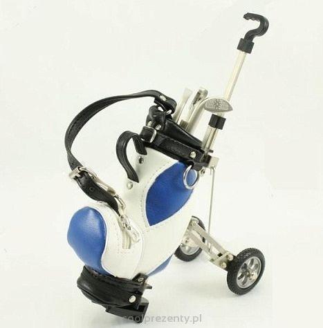 Wózek golfowy z długopisami - Śmieszne prezenty i gadżety, upominki na każdą okazję.