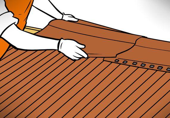 Dach Decken Mit Wellplatten In 7 Schritten Obi Dachbau Decken Dach
