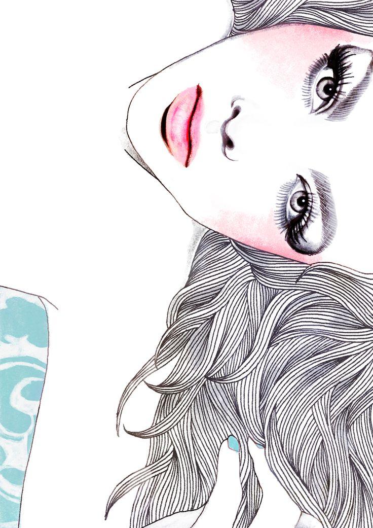 Samira #illustration #painting #drawing