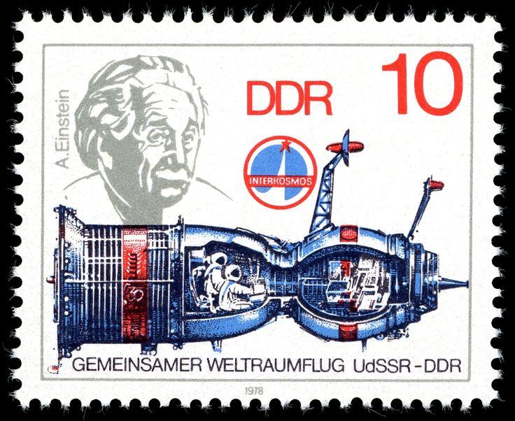 Stamps of Germany (DDR) 1978 Raumfahrt auf Briefmarken