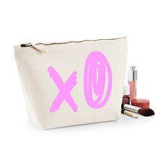 XO Scribble Makeup Bag