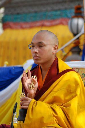 Being content with what we have ~ 17th Karmapa http://justdharma.com/s/t2j1o  Happiness is always there; we do not have to bring it in from the outside, but simply recognize it within and allow ourselves to feel it. For example, we can be content with what we have, whatever it is. If we have a lot, it doesn't mean we have to get rid of things. We are simply satisfied with what is there, be it large or small. With this contentment comes happiness. So we have to learn how to satisfy ourselves…
