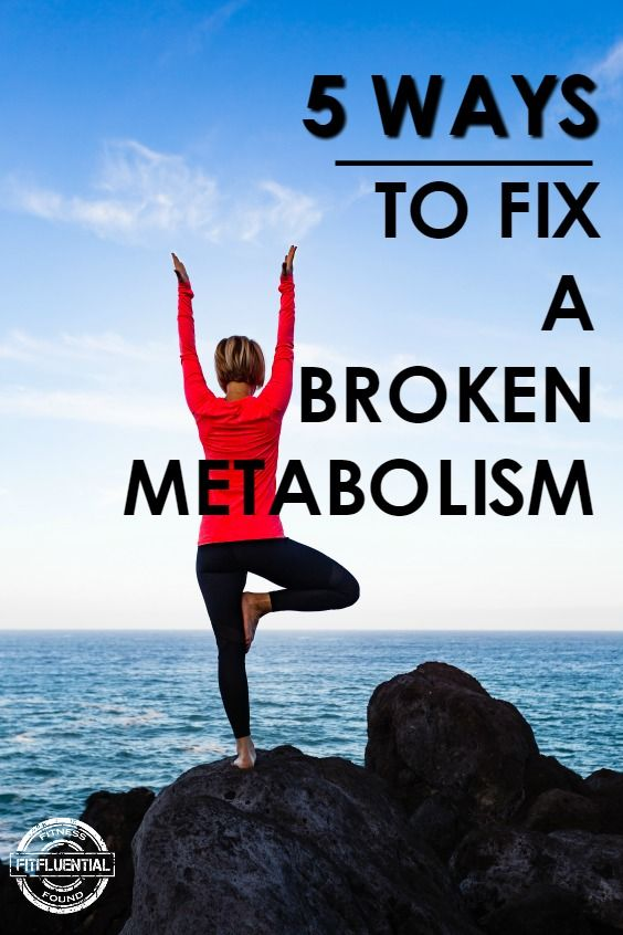 how to fix your metabolism