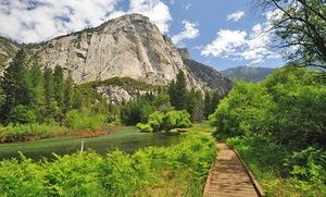 Groupon - 1-Night Stay for Two with Daily Breakfast at John Muir Lodge in Kings Canyon National Park. in Kings Canyon National Park, CA. Groupon deal price: $89