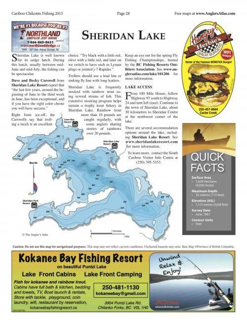 Photo thumbnail: Lake of the Day July 8: Sheridan Lake, BC