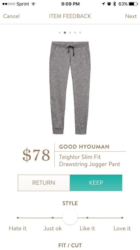 Good Hyouman Teighlor Slim Fit Drawstring Jogger Pant Stitch Fix