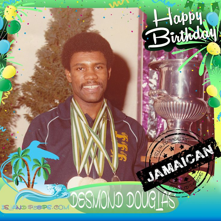 Happy Birthday Desmond Douglas!!! 11 time Table Tennis Champion who represented Great Britain in the Olympics was born in Jamaica!!! Today we celebrate you!!! #Desmondouglas #islandpeeps #islandpeepsbirthdays #tabletennis #olympics #Jamaican