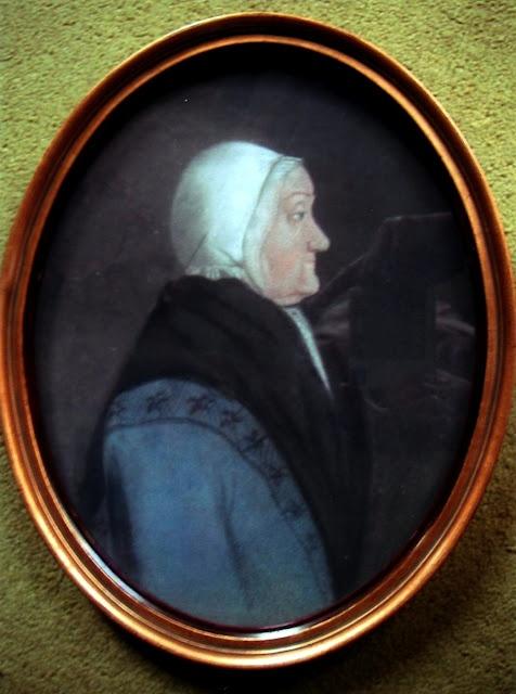 Margien Aling  Pastel : portret van Margien Aling  Married to  Abel Popko van Bolhuis, 2nd cousin  8 times removed, mother of Harm Jan van Bolhuis (1766-1824)