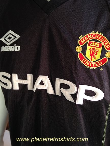 46dc59b91b8 Manchester United away shirt 1998-99. Made by Umbro. United s third shirt as