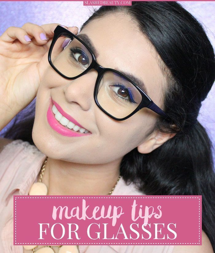 bda92b7882c Check out these makeup tips for glasses that will help you master your  routine and stand out behind your frames.