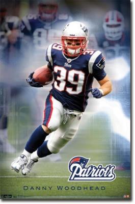 Danny Woodhead New England Patriots Poster $8.80