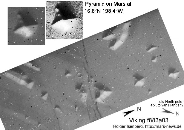 The Sagan Pyramids - Mariner 9 #4205-78 & #4296-23
