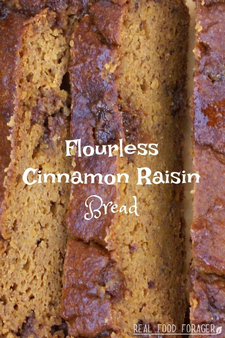 Recipe: Flourless Cinnamon Raisin Bread (Paleo, GAPS)