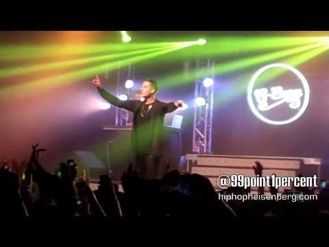 G-Eazy - Must Be Nice (Live) These Things Happen Tour @ Fonda Theater Los Angeles CA 2/27/14