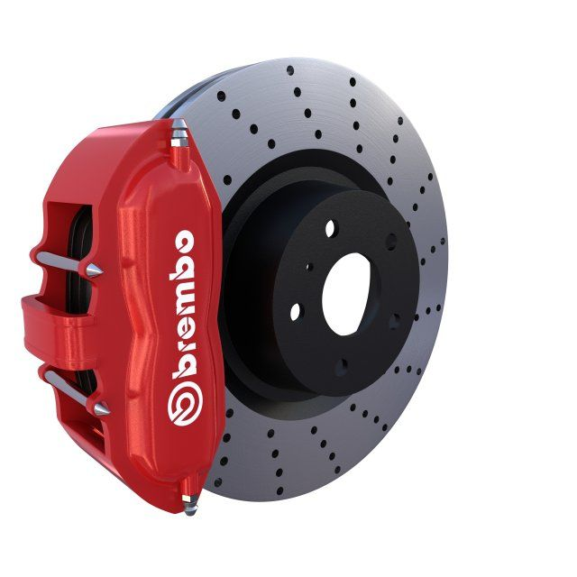 Sport Ventilated Brake System 3D Model .max .c4d .obj .3ds .fbx .lwo .stl @3DExport.com by dragosburian