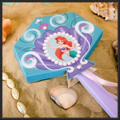 Disney: The Little Mermaid - Princess Ariel's Wand Free Papercraft Download - http://www.papercraftsquare.com/disney-little-mermaid-princess-ariels-wand-free-papercraft-download.html