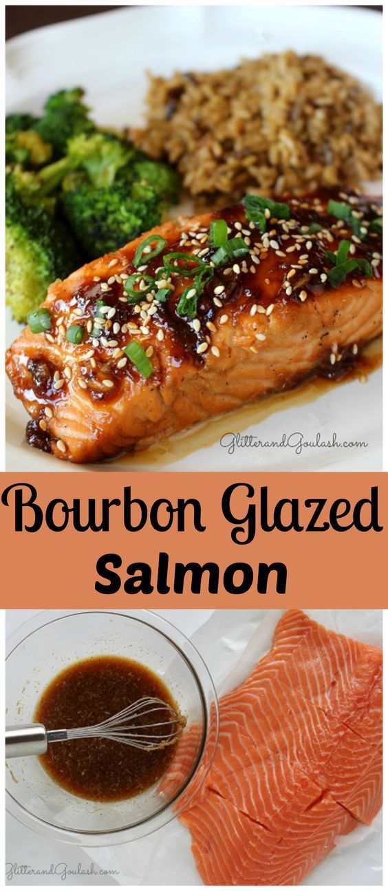Bourbon Glazed Salmon Recipe Baked Salmon Recipes