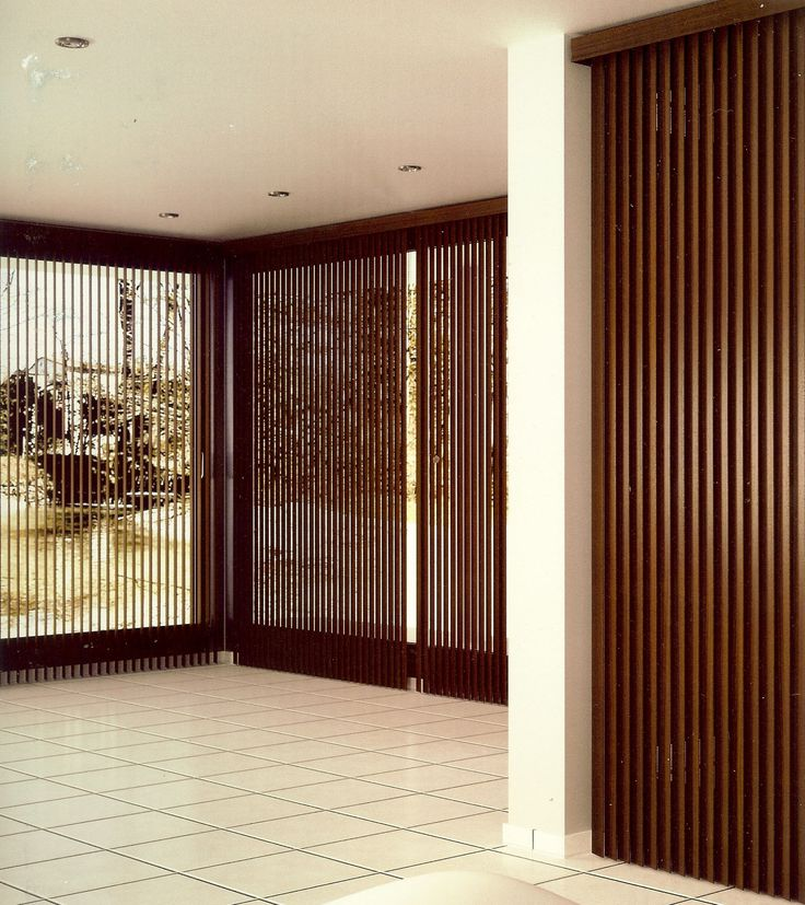 17 best images about cortinas verticales de madera on - Cortinas de madera ...