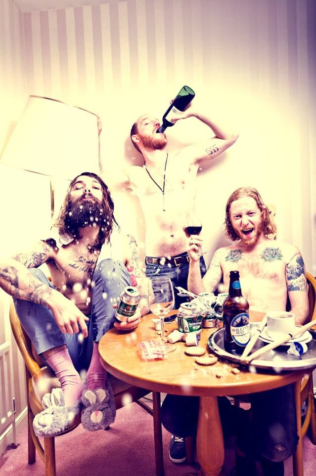 Biffy Clyro - the very picture from the first interview I ever read with them