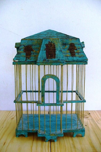 Antique Bird Cages | Bird Cages - Shop for Bird Cages on Stylehive - vintage bird cage
