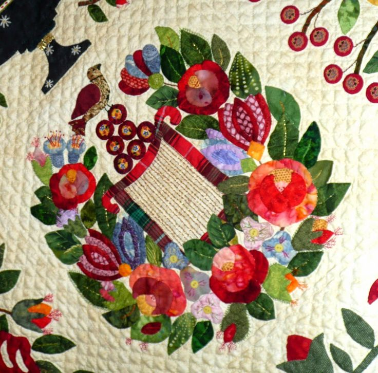 2526 best Floral applique quilts images on Pinterest | Quilting ... : marie miller quilts - Adamdwight.com