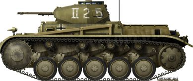 Panzer II Ausf.F, El Alamein, June 1942. The F was the last standard version of the Panzer II. Pin by Paolo Marzioli