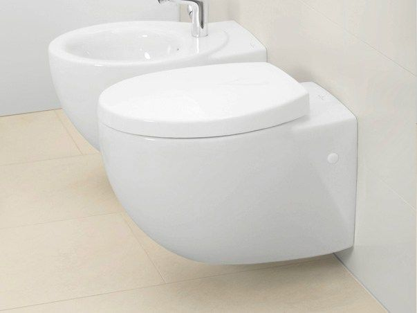 Ceramic toilet Aveo New Generation Collection by Villeroy & Boch | design Conran and Partners