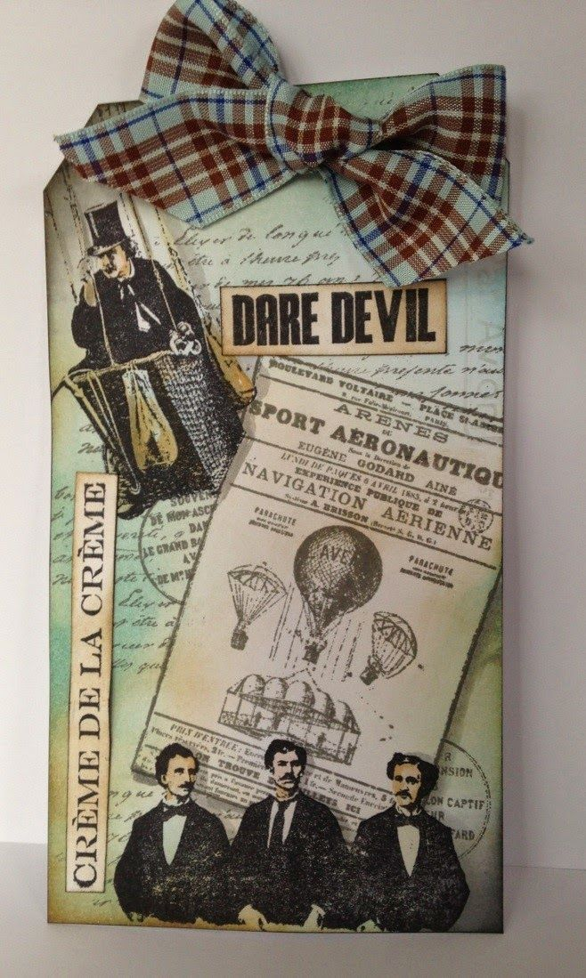 Dare Devil by Donna Ratcliff | That's Blogging Crafty!