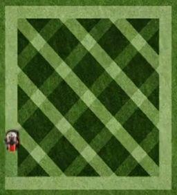 How To Mow A Diamond Pattern Yardzrus Com Lawn