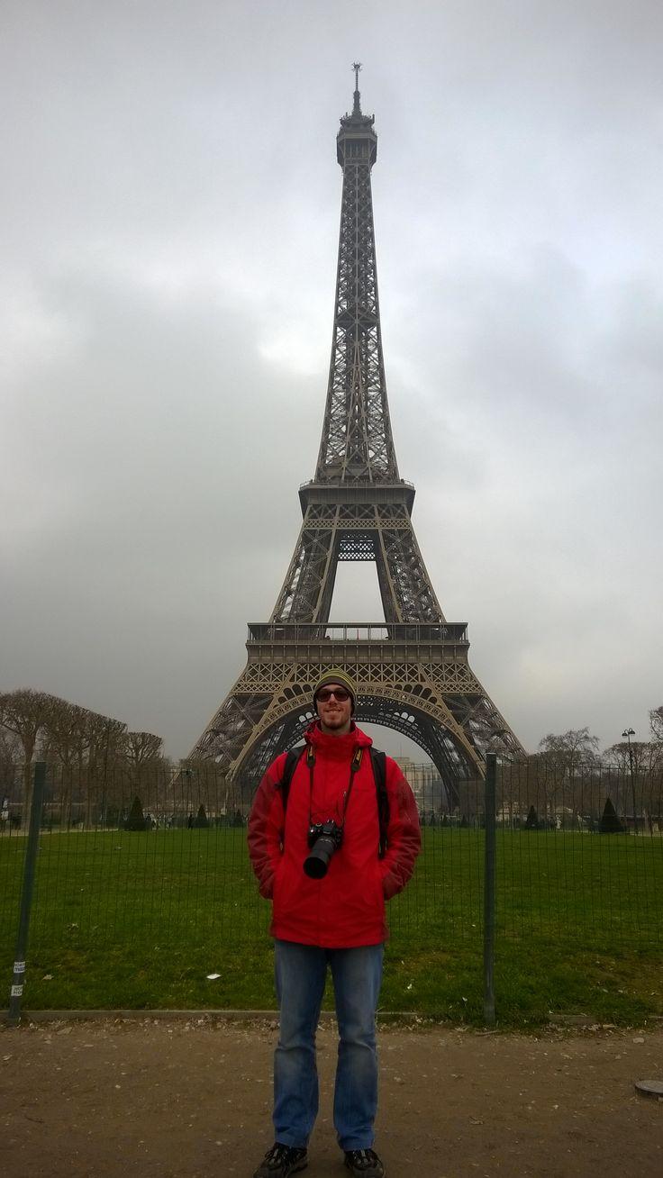 Io a #Parigi #TourEiffel