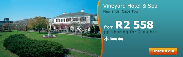 Vineyard Hotel & Spa - Newlands, Cape Town