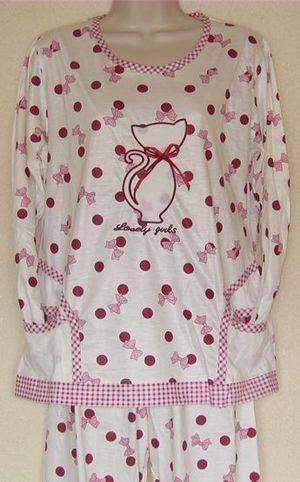 Pyjama Sympa Femme  Coton   www.granvie.fr