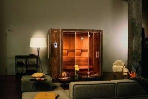 Farben wird ein besonderer Zauber nachgesagt Mit dem Farblicht BELLASENSA können Sie Ihre Sauna S1 in Ihre Lieblingsfarben tauchen. Sie haben die Wahl zwischen rotem, gelbem, blauem, grünem, orangem und violettem Licht.
