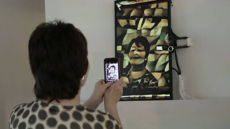 Cubist Mirror is a mirror which reflects the world back in the Cubist painting style.