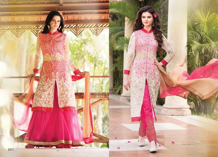 @Wedding Wear Pink Color Designer Suit. Pricing Call Us or What's App on :- +91 99099 59528 Visit Our Site:=> #www.sareemall.in Email Us on:- support@sareemall.in