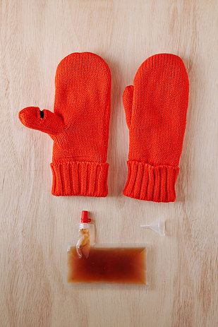 Or take a swig from your mittens. | 17 Insanely Brilliant Ways To Hide Alcohol In Your Outfit
