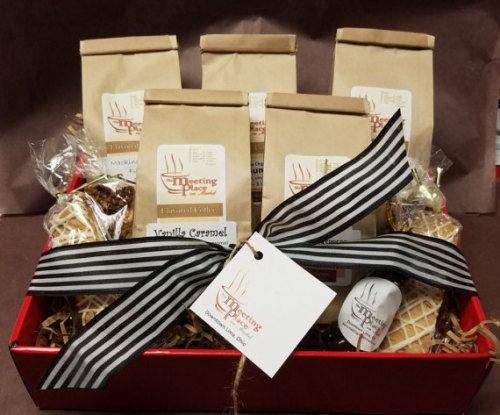Premium Coffee Gift Basket  Christmas Gift