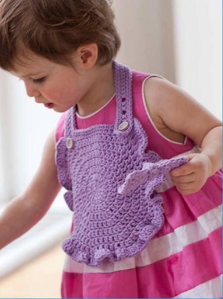 No Fuss Party Bibs Crochet by Linda Permann