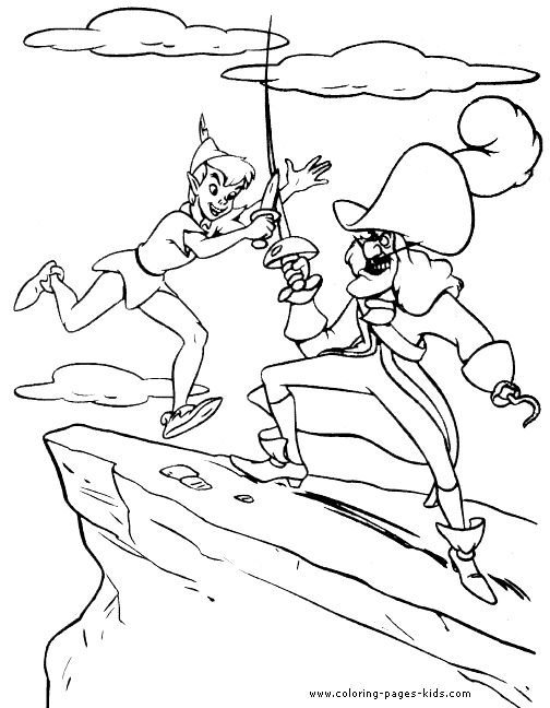 Best 100+ Peter Pan images on Pinterest | Peter pan coloring pages ...