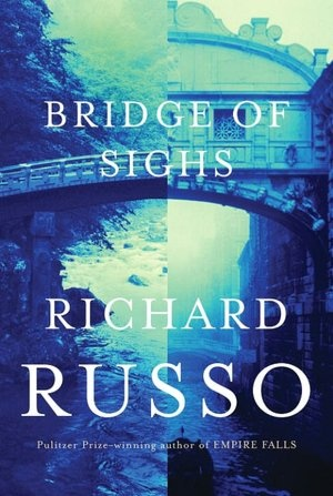 """Bridges of Sighs by Richard Russo - a married couple take a once-in-a-lifetime trip to Italy, where the husband's oldest friend, a renowned painter, has exiled himself far from anything they'd known in childhood. The exact nature of their friendship is one of the many mysteries he hopes to untangle in the """"history"""" he's writing of his hometown and family. Interesting, well written and recommend"""