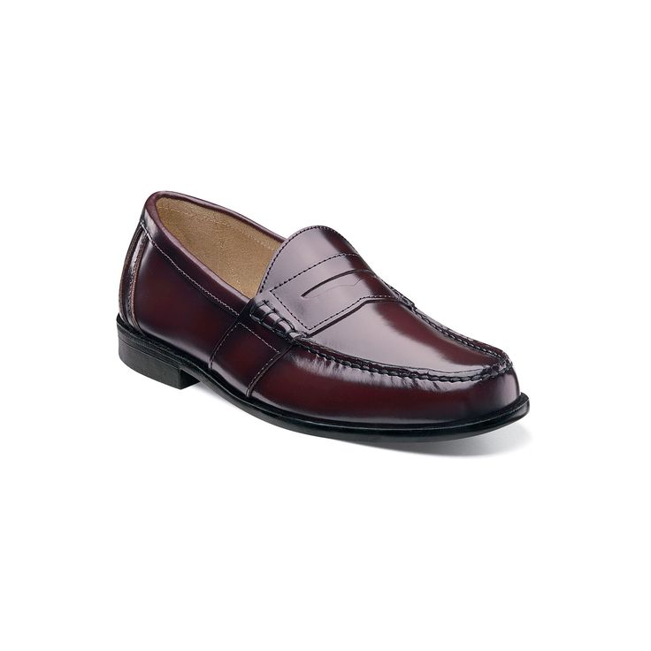 BARNEYS New York Cognac Calfskin Tassel Loafers Shoes 10.5  Made in Italy