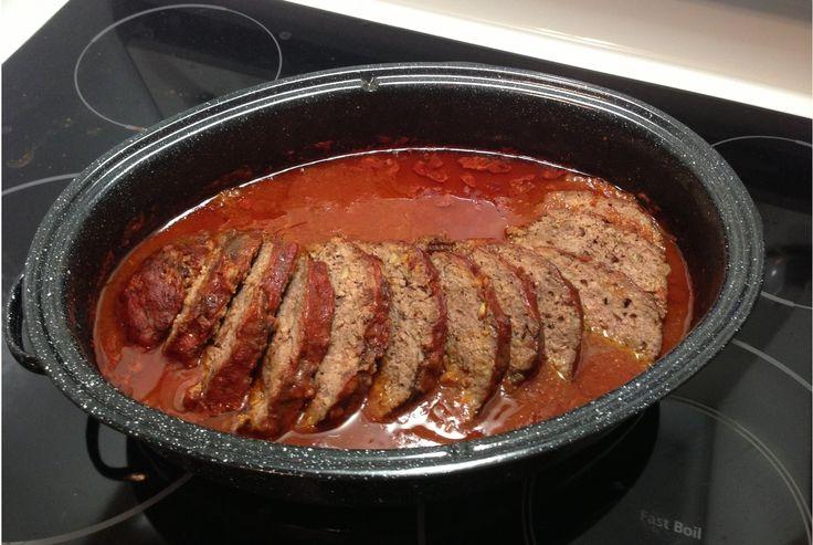 Pain de viande aux tomates facile et délicieux #recettesduqc #souper #comfortfood