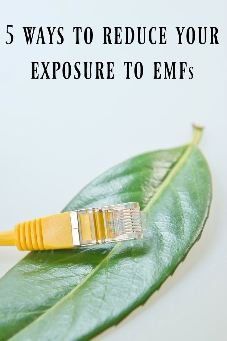 5 Ways to Reduce Your Exposure to EMFs - One of the best ways to combat this exposure is to give your body a break from these fields at night since our bodies are far more sensitive to electromagnetic radiation while we sleep. Consider these 5 suggestions for reducing your EMF exposure at night.