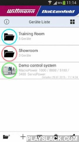 WiBa QuickLook  Android App - playslack.com , This App connects to Wittmann R8 robots and Wittmann Battenfeld Unilog B6 injection molding machines. You can use this app to quickly and easily look into the most important operating data and states of your devices.FEATURES- Quick overview in the device lists through color coding of the operating modes.- Display of operating data, alarms and user defined program values in the details view of each device.- Collect devices in groups.- User defined…