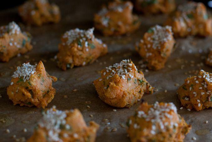 Baked Sweet Potato Falafel: Sweetpotato, Falafels, Baked Sweet Potatoes, Falafel Recipe, Sweets, Food, Healthy Sweet, 101 Cookbooks