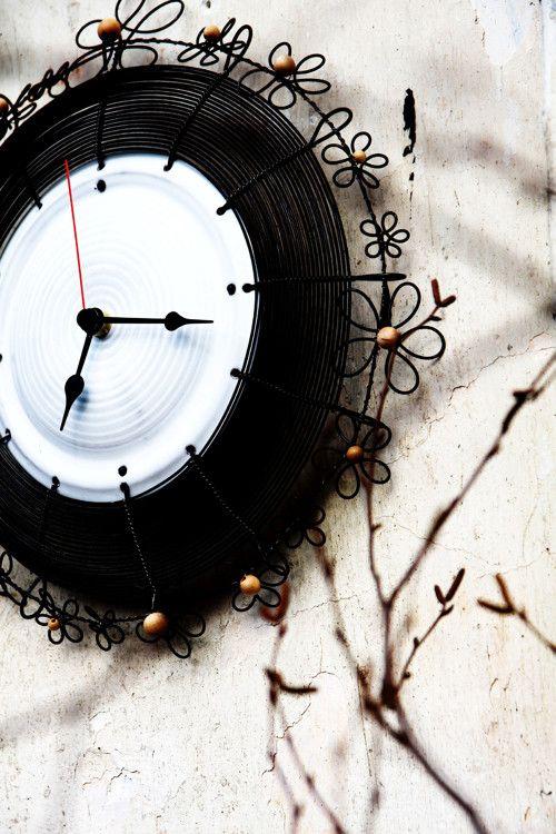 čas pro mou z nejmilejších... drátované hodiny