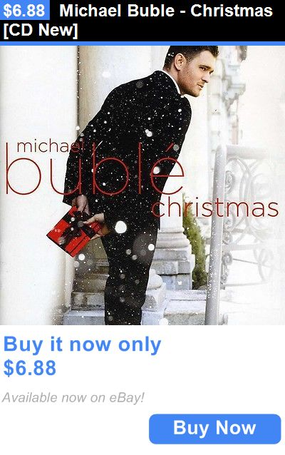 Christmas Songs And Album: Michael Buble - Christmas [Cd New] BUY IT NOW ONLY: $6.88