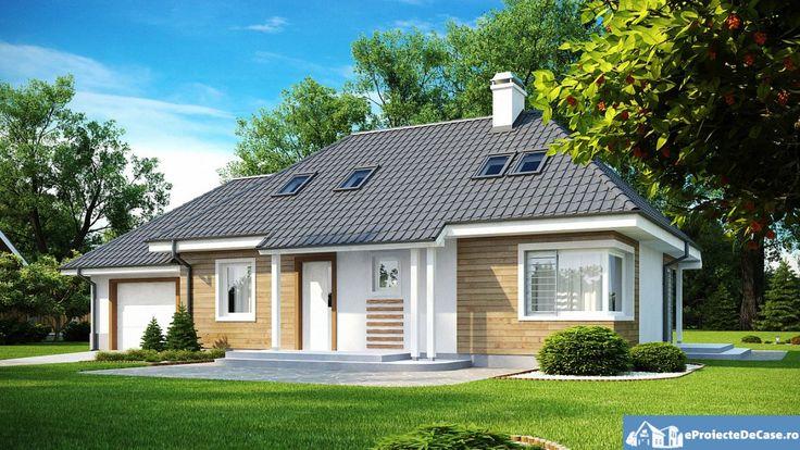 Proiect de casa cu mansarda 202