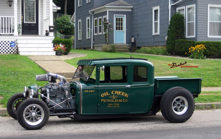 Old Ford Cars >> Old Hot Rods | Cummins Diesel Hot Rod – Turbo Ford Model A | The Beatnik ... | cars | Pinterest ...